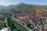 "AERIAL VIDEO OF THE BOSNIAN VALLEY OF THE PYRAMIDS AND PARK ""RAVNE 2"""