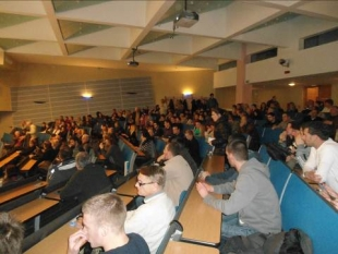 THOUSANDS OF CROATIANS CAME TO OSMANAGICH'S LECTURES