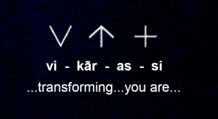 ...transforming...you are...