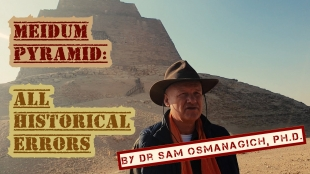 Meidum Pyramid: All Historical Errors