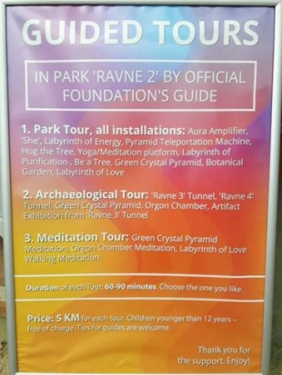 GUIDED TOURS IN THE PARK RAVNE 2