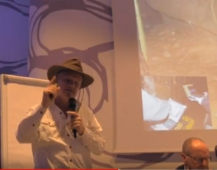 Bosnian Pyramid Healing Energy Lecture by Sam Osmanagich, Ph.D. Milan, Italy, November 2017