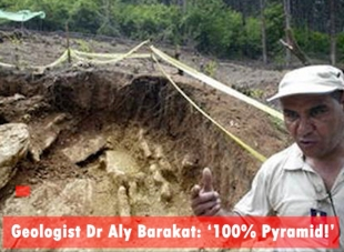 Geologist Dr Aly Barakat, Ph.D.: '100 % Pyramid!'