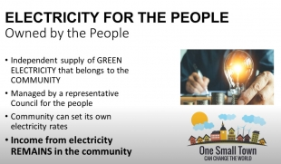 GREEN Electricity - For Small Towns in the USA - UBUNTU Planet USA
