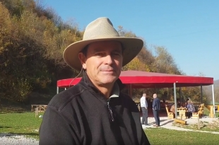 MICHAEL TELLINGER VISITED BOSNIAN PYRAMIDS: 'I HAVE LOT TO LEARN FROM DR. SAM