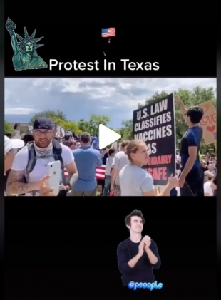 PROTEST IN TEXAS