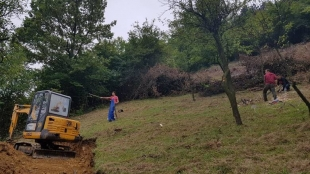 PROPERTY CLEARING ON THE EASTERN SIDE OF THE BOSNIAN PYRAMID OF THE SUN