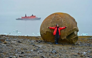 Giant Stone Spheres Discovered On Artic Island Baffle Scientists
