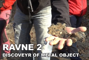 RAVNE 2 - DISCOVERY OF METAL OBJECT