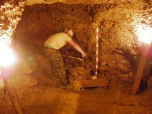ANOTHER UNDERGROUND CHAMBER DISCOVERED