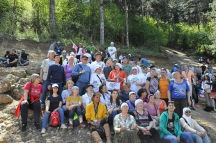 "GROUP ""PEACEKEEPERS"" FROM RUSSIAN URAL VISITED THE BOSNIAN PYRAMID OF THE SUN"
