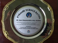 "OSMANAGICH AWARDED ""PYRAMID SCIENCE DIAMOND"" IN INDIA"