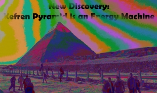 New Discovery: Kefren Pyramid is an Energy Machine