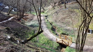 "A NEW RECREATIONAL TRAIL IN PARK ""RAVNE 2"""
