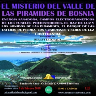 BOSNIAN PYRAMID CONFERENCES IN BARCELONA, MADRID AND VALENCIA