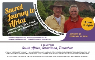 SACRED JOURNEY TO AFRICA WITH MICHAEL TELLINGER AND DR. SAM OSMANAGICH January 31 – February 12, 2020