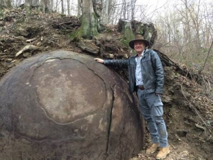 CONFIRMED: THE WORLD'S LARGEST STONE BALL IS IN A ZAVIDOVICI