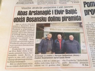 Press clipping - Avaz 09.01.2018.