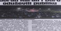 Dnevni Avaz, 26.06.2019: Spuštena zavjesa na još jdn SSF