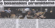 Dnevni avaz 03.07.2019.: Ambasador makarević obišao arheološki park u Visokom