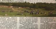 Dnevni Avaz 25.09.2019. - Najsupješnija sezona Fondacije