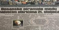 AVAZ 14. maj 2018.: 'Bosanske piramide među najvećim otkrićima 21. stoljeća