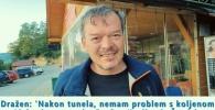 Dražen: 'Nakon tunela, nemam problem s koljenom'