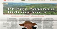 Prihaja bosanski Indiana Jones