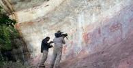 U Amazonskoj prašumi otkriven zid iz ledenog doba na kojem su naslikani ljudi i životinje