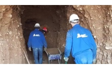 ARCHAEOLOGICAL WORK HAS STARTED IN THE NEW 'HEALING TUNNELS'