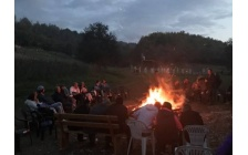 Foundation Guides, Supporters and Employees Mark the End of the Main Tourism Season Around a Campfire
