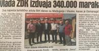 Vlada ZDK izdvaja 340.000 KM za infrastrukturu na Ravnama