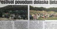 Dnevni avaz - 23.06.2018.: Festival povodom dolaska ljeta
