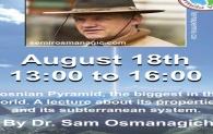 Dr. Semir Osmanagić u Kanadi: tri predavanja u provinciji Quebec u august 2019.