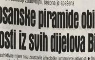 Dnevni Avaz 20.09.2020.: Bosanske piramide obišli gosti iz svih dijelova BiH
