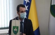 GRADONAČELNIK MIRZA GANIĆ ODRŽAO SASTANAK SA dr. SEMIROM OSMANAGIĆEM