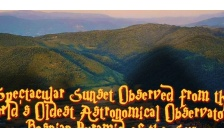 Spectacular Sunset Observed from the World's Oldest Astronomical Observatory – Bosnian Pyramid of the Sun
