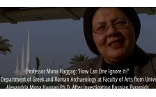 Professor Mona Haggag: 'How Can One Ignore it?'