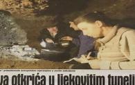 Dnevni Avaz naslovnica 23.01.2021. i vijest o otkriću novog tunela