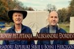 Semirovih pet pitanja Aleksandru Đorđeviću