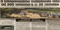 Dnevni avaz: Volonteri na bosanskim piramidama, 21. novmebar 2018.