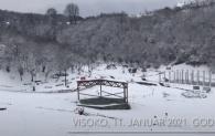 Zimski ambijent parka Ravne 2
