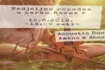 Acoustic Duo – Amina i Abas – u parku Ravne 2
